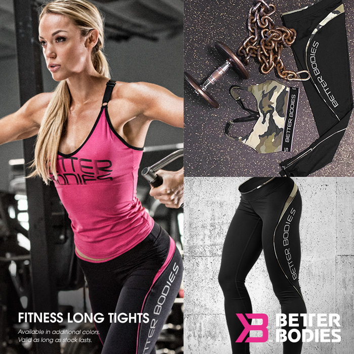 Better Bodies Damen Fitness Ling Tights