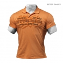 Better Bodies Collar Tee orange
