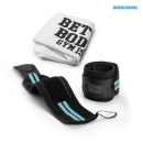 Womens Wrist Wraps - Aqua Blue + Towel for free